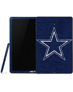 Dallas Cowboys Distressed Samsung Galaxy Tab Skin