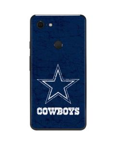 Dallas Cowboys Distressed Google Pixel 3 XL Skin