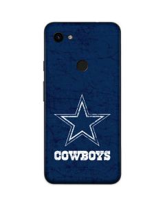 Dallas Cowboys Distressed Google Pixel 3a Skin