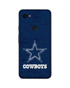 Dallas Cowboys Distressed Google Pixel 3a XL Skin