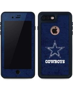 Dallas Cowboys Distressed iPhone 8 Plus Waterproof Case