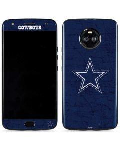 Dallas Cowboys Distressed Moto X4 Skin