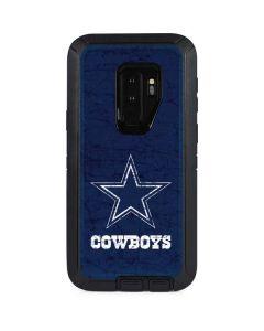 Dallas Cowboys Distressed Otterbox Defender Galaxy Skin