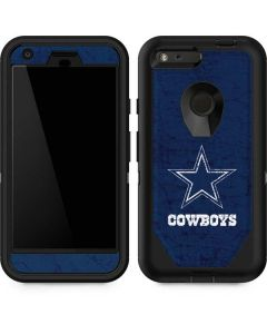 Dallas Cowboys Distressed Otterbox Defender Pixel Skin