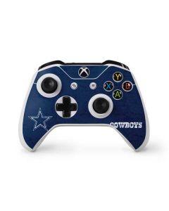 Dallas Cowboys Distressed Xbox One S Controller Skin