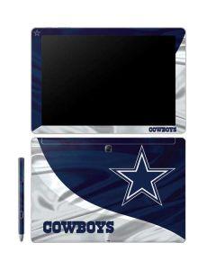 Dallas Cowboys Galaxy Book 12in Skin