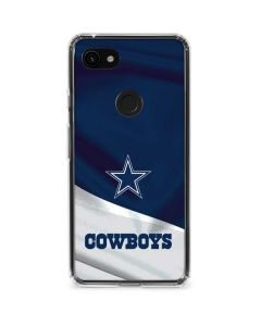 Dallas Cowboys Google Pixel 3a XL Clear Case