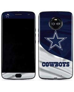 Dallas Cowboys Moto X4 Skin