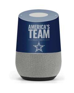 Dallas Cowboys Team Motto Google Home Skin