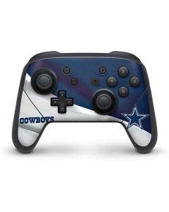 Dallas Cowboys Nintendo Switch Pro Controller Skin
