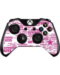 Dallas Cowboys Pink Blast Xbox One Controller Skin