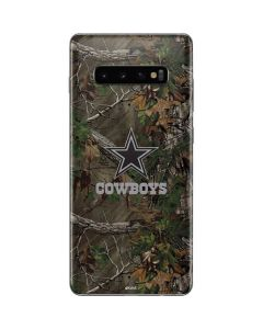 Dallas Cowboys Realtree Xtra Green Camo Galaxy S10 Plus Skin