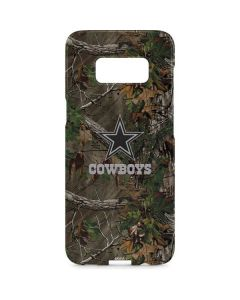 Dallas Cowboys Realtree Xtra Green Camo Galaxy S8 Plus Lite Case