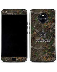 Dallas Cowboys Realtree Xtra Green Camo Moto X4 Skin