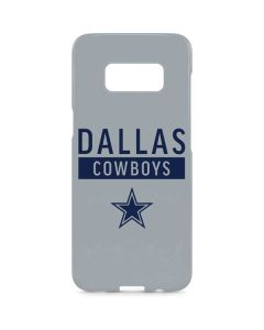 Dallas Cowboys Silver Performance Series Galaxy S8 Plus Lite Case