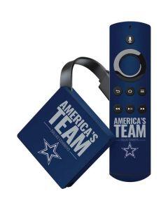 Dallas Cowboys Team Motto Amazon Fire TV Skin