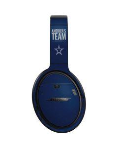 Dallas Cowboys Team Motto Bose QuietComfort 35 Headphones Skin