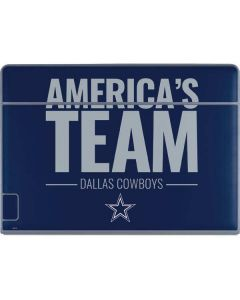 Dallas Cowboys Team Motto Galaxy Book Keyboard Folio 12in Skin