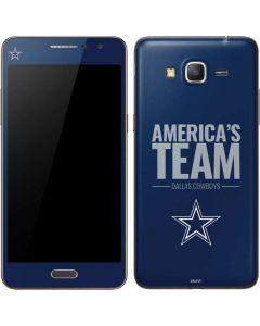 Dallas Cowboys Team Motto Galaxy Grand Prime Skin