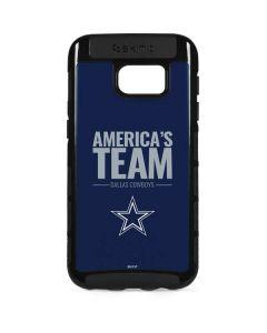 Dallas Cowboys Team Motto Galaxy S7 Edge Cargo Case