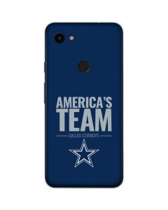 Dallas Cowboys Team Motto Google Pixel 3a Skin