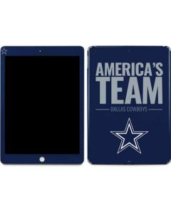 Dallas Cowboys Team Motto Apple iPad Skin