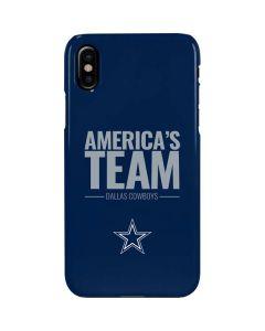 Dallas Cowboys Team Motto iPhone XS Max Lite Case