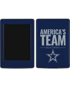 Dallas Cowboys Team Motto Amazon Kindle Skin