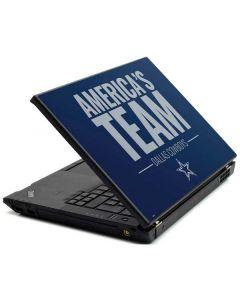 Dallas Cowboys Team Motto Lenovo T420 Skin