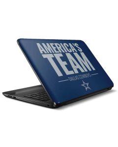 Dallas Cowboys Team Motto HP Notebook Skin