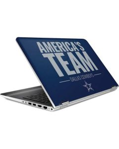 Dallas Cowboys Team Motto HP Pavilion Skin