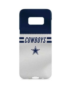 Dallas Cowboys White Striped Galaxy S8 Plus Lite Case