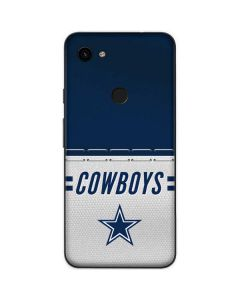 Dallas Cowboys White Striped Google Pixel 3a Skin