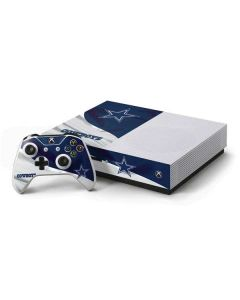 Dallas Cowboys Xbox One S Console and Controller Bundle Skin