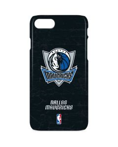 Dallas Mavericks Black Primary Logo iPhone 8 Lite Case