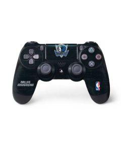 Dallas Mavericks Black Primary Logo PS4 Pro/Slim Controller Skin