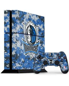 Dallas Mavericks Digi Camo PS4 Console and Controller Bundle Skin