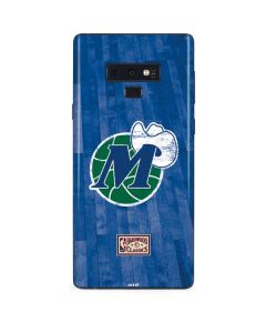 Dallas Mavericks Hardwood Classics Galaxy Note 9 Skin