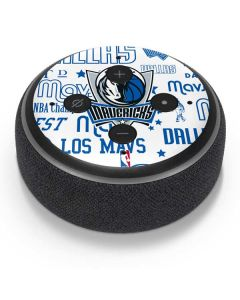 Dallas Mavericks Historic Blast Amazon Echo Dot Skin