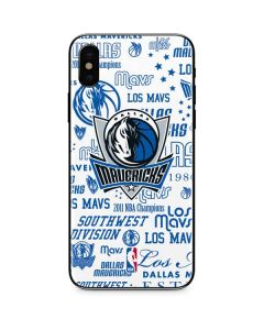Dallas Mavericks Historic Blast iPhone X Skin