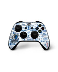 Dallas Mavericks Historic Blast Xbox One X Controller Skin