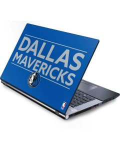 Dallas Mavericks Standard - Light Blue Generic Laptop Skin