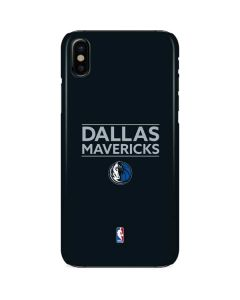 Dallas Mavericks Standard - Blue iPhone X Lite Case
