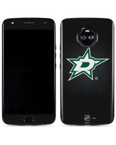 Dallas Stars Black Background Moto X4 Skin