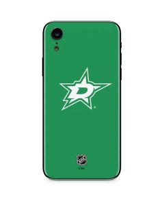 Dallas Stars Color Pop iPhone XR Skin
