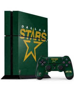 Dallas Stars Distressed PS4 Console and Controller Bundle Skin