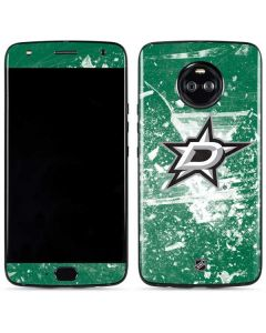 Dallas Stars Frozen Moto X4 Skin