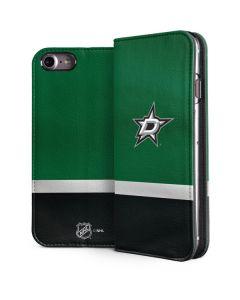 Dallas Stars Jersey iPhone 8 Folio Case