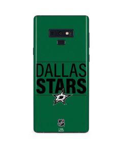 Dallas Stars Lineup Galaxy Note 9 Skin