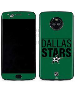 Dallas Stars Lineup Moto X4 Skin